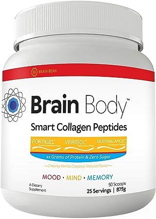 Brain-Body | Smart Collagen Peptides | Mood, Mind, & Memory | 25 Servings