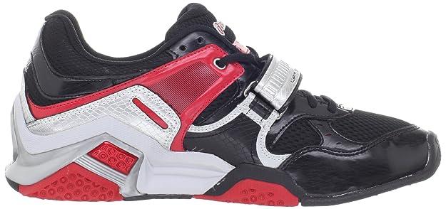 Asics , Herren Sneaker, Mehrfarbig BlackSilverRed