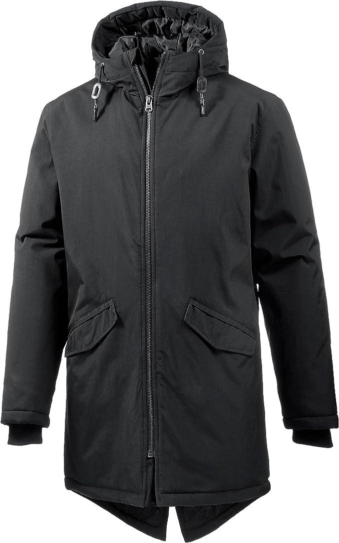Shine Original Metal Zipper Parka Coat Abrigo para Hombre