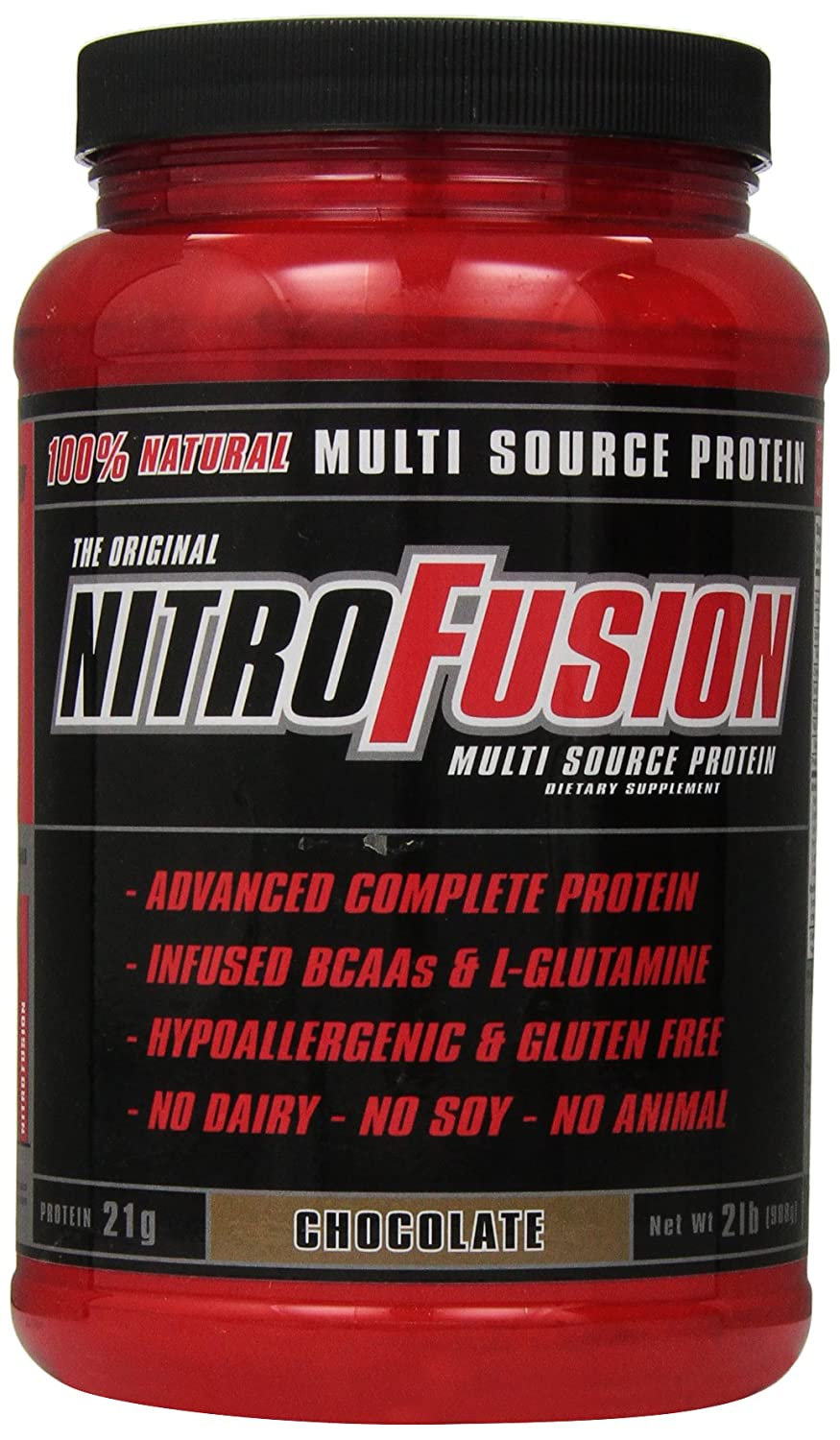 Plant Fusion Nitro Fusion Supplement, Chocolate, 2 Pound