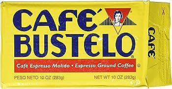 Cafe Bustelo Espresso 10oz Ground Coffee Brick, Dark Roast