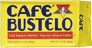 Cafe Bustelo Espresso Coffee, 10 Ounce Bricks (Pack of 24)