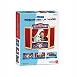 Guidecraft Wooden Tabletop Puppet Theater For