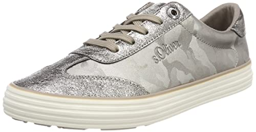SPM Soho Sneaker, Zapatillas para Mujer, Verde (Cedro 05124), 42 EU