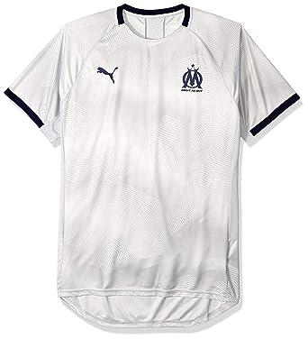 7798fa53 Amazon.com: PUMA Men's Olympique De Marseille Graphic Jersey with Sponsor  Logo: Clothing