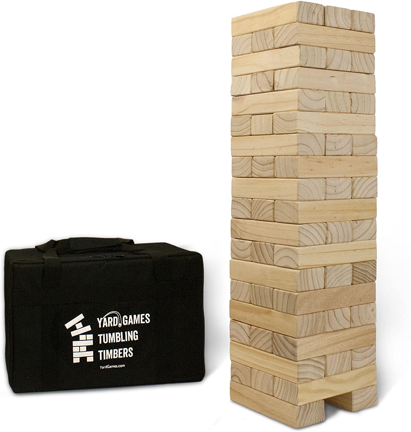 Amazon.com: Yard Games Giant Tumbling Timbers: Toys & Games