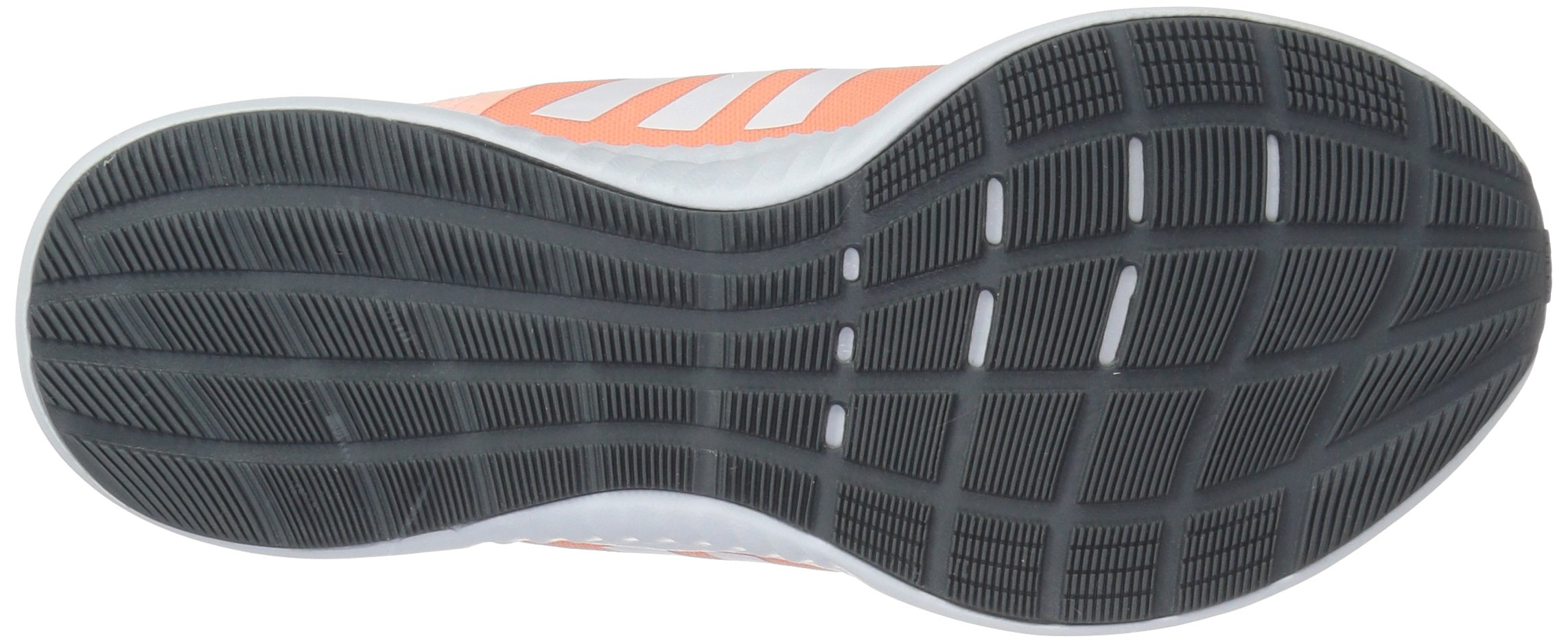 adidas Women's EdgeBounce Running Shoe Clear Orange/White/Copper Metallic 5 M US by adidas (Image #3)