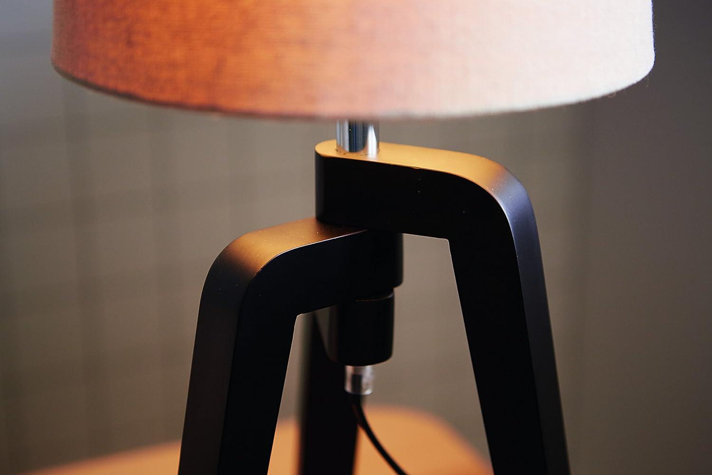 Philips Lighting 36038/38/E7 Lámpara de Mesa E27, 40 W, Color ...