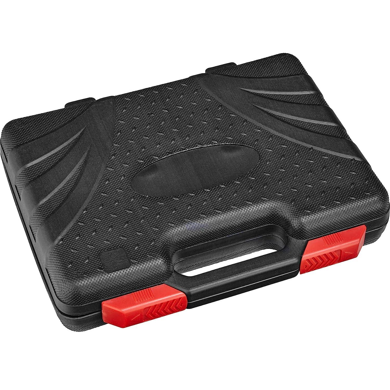 inkl TecTake Vielzahn Steckschl/üsselsatz diverse Modelle - Koffer Typ 3   Nr. 402696 Chrom-Vanadium-Stahl