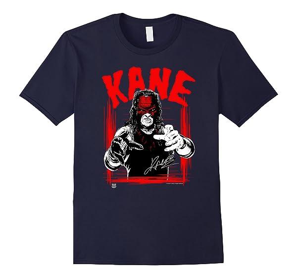 Top Selling Amazing Tee Wwe Kane Horror Font Shirts