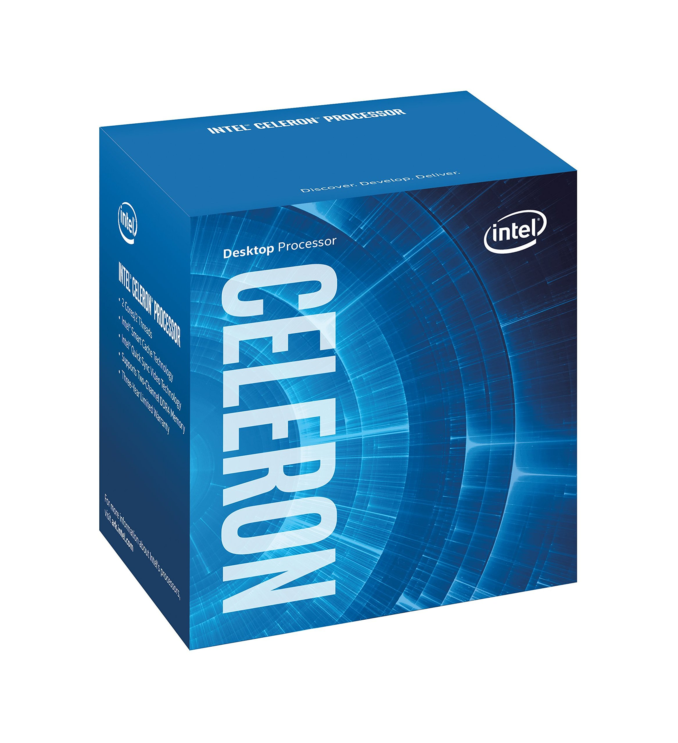 Intel BX80677G3950 7th Gen Celeron Desktop Processors by Intel