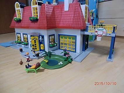 Amazon.com: Playmobil Casa moderna: Toys & Games