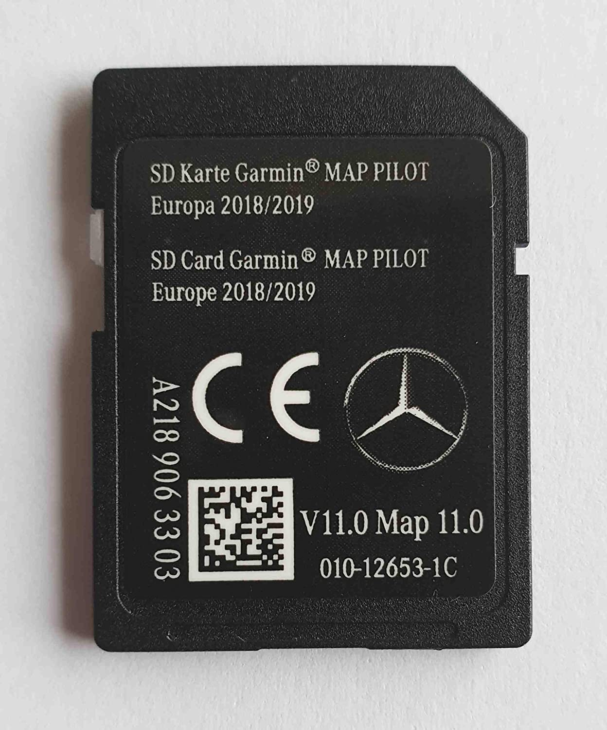 SD Karte Mercedes Garmin Map Pilot STAR1 v11 Europe 2018-2019 - A2189063303