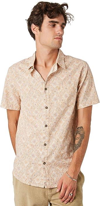 RHYTHM Mentawai - Camisa corta para hombre: Amazon.es: Ropa y accesorios