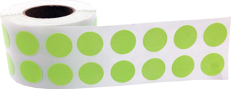13 mm 1//2 Zoll Runde Orange Hologramm Kreis Punkt Aufkleber 1000 Etiketten auf einer Rolle