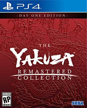 Yakuza Remastered Collection Day 1 Edition for PlayStation 4