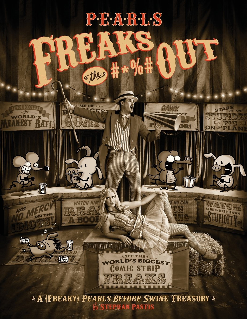Download Pearls Freaks the #*%# Out: A (Freaky) Pearls Before Swine Treasury pdf epub