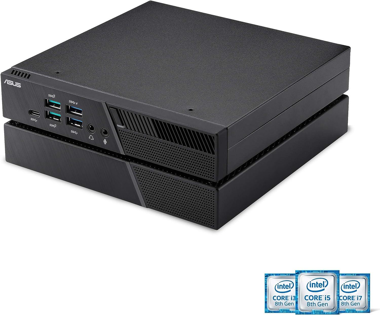ASUS PB60G Mini PC with Intel Core i3-8100T and NVIDIA Quadro P620 Graphics Module (256GB SSD, 8GB RAM, HDMI, DisplayPort, 802.11ac Wifi, BlueTooth 5.0, Gigabit LAN, USB 3.1, VESA Mount, Windows 10 Pr