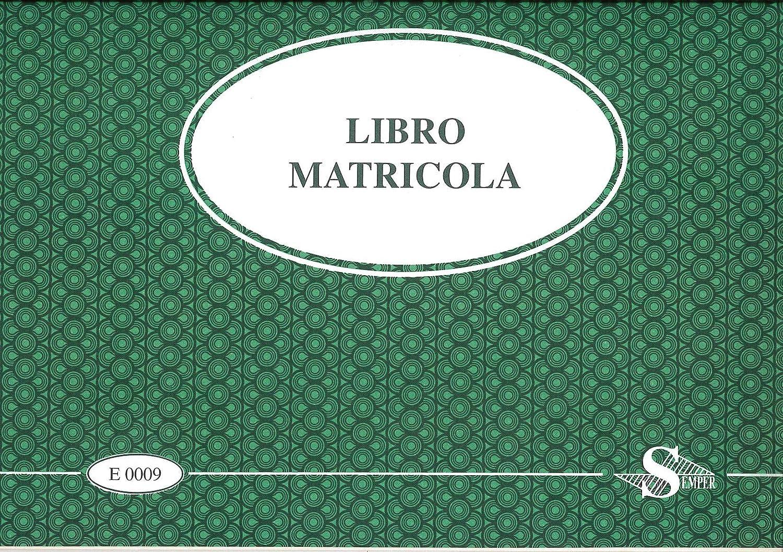 LIBRO MATRICOLA