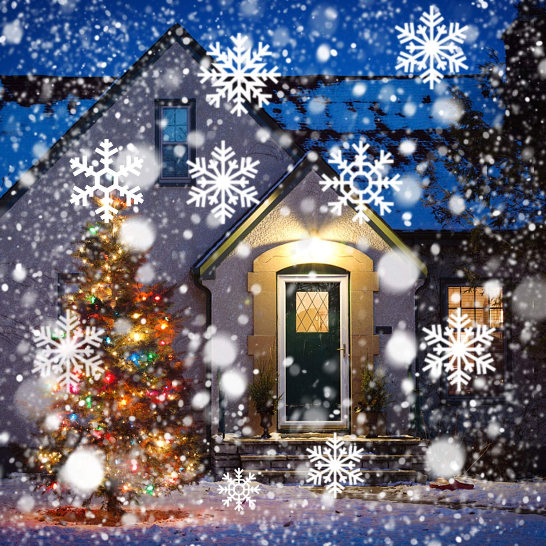 Christmas Projetor Lights, Comkes Snowflake Projector Light Snowfall ...