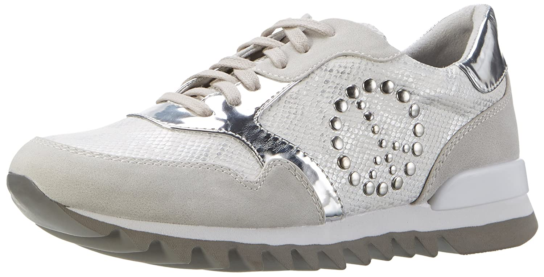 Tamaris 23614, Zapatillas para Mujer 37 EU Blanco (Offwht.str.com 119)