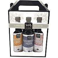 Wildly Delicious Balsamic Vinegar Trio Gift Set - 3 X 150 ml Bottles