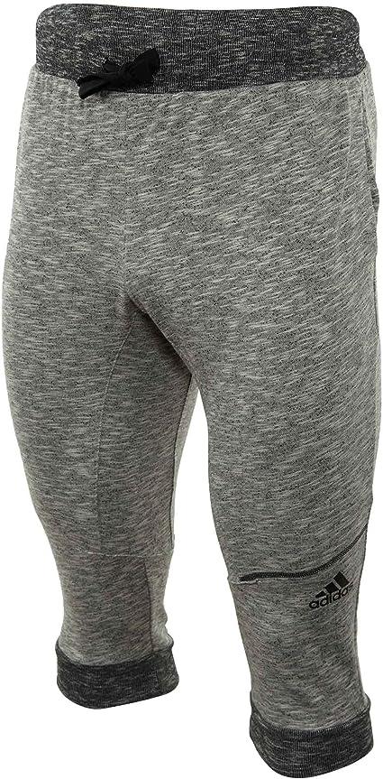 Adidas - Pantalones tres cuartos de baloncesto para hombre ...