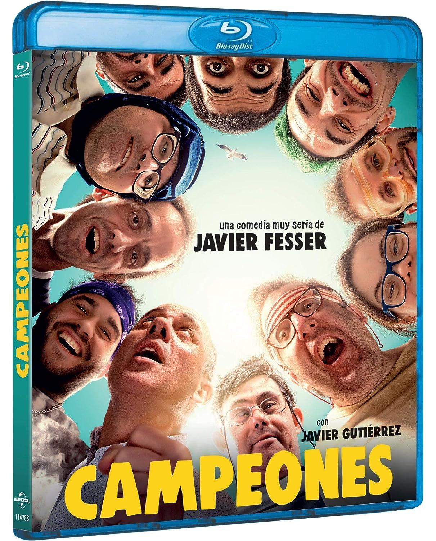 Campeones (BD) [Blu-ray]: Amazon.es: Javier Gutiérrez, Athenea Mata, Juan Margallo, Javier Fesser, Javier Gutiérrez, Athenea Mata, Morena Films, Movistar+, Películas Pendelton: Cine y Series TV