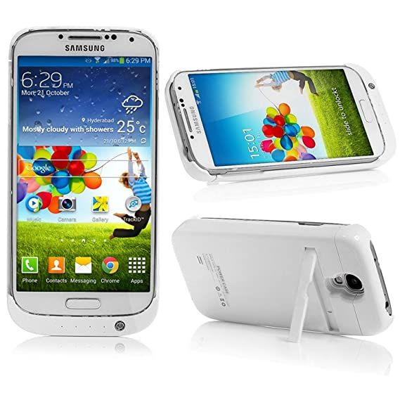 new style 93ccf 51d91 Amazon.com: Bonita Products Galaxy S4 Battery Case, 3200mAh Backup ...