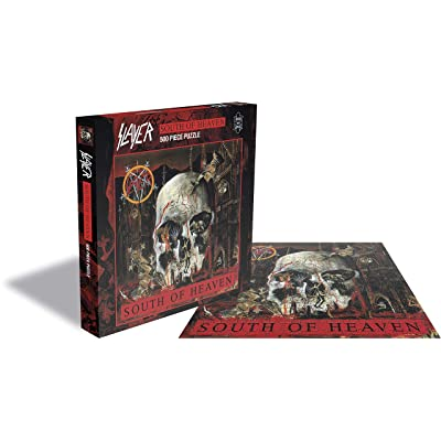 Slayer Puzzle South of Heaven Merchandise Puzzles: Toys & Games