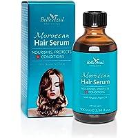 Belle Azul Marrokanisches Haaröl - Haarserum mit marokkanischem Arganöl. Intensiv pflegendes Haaröl für trockene, strapazierte und kaputte Haare