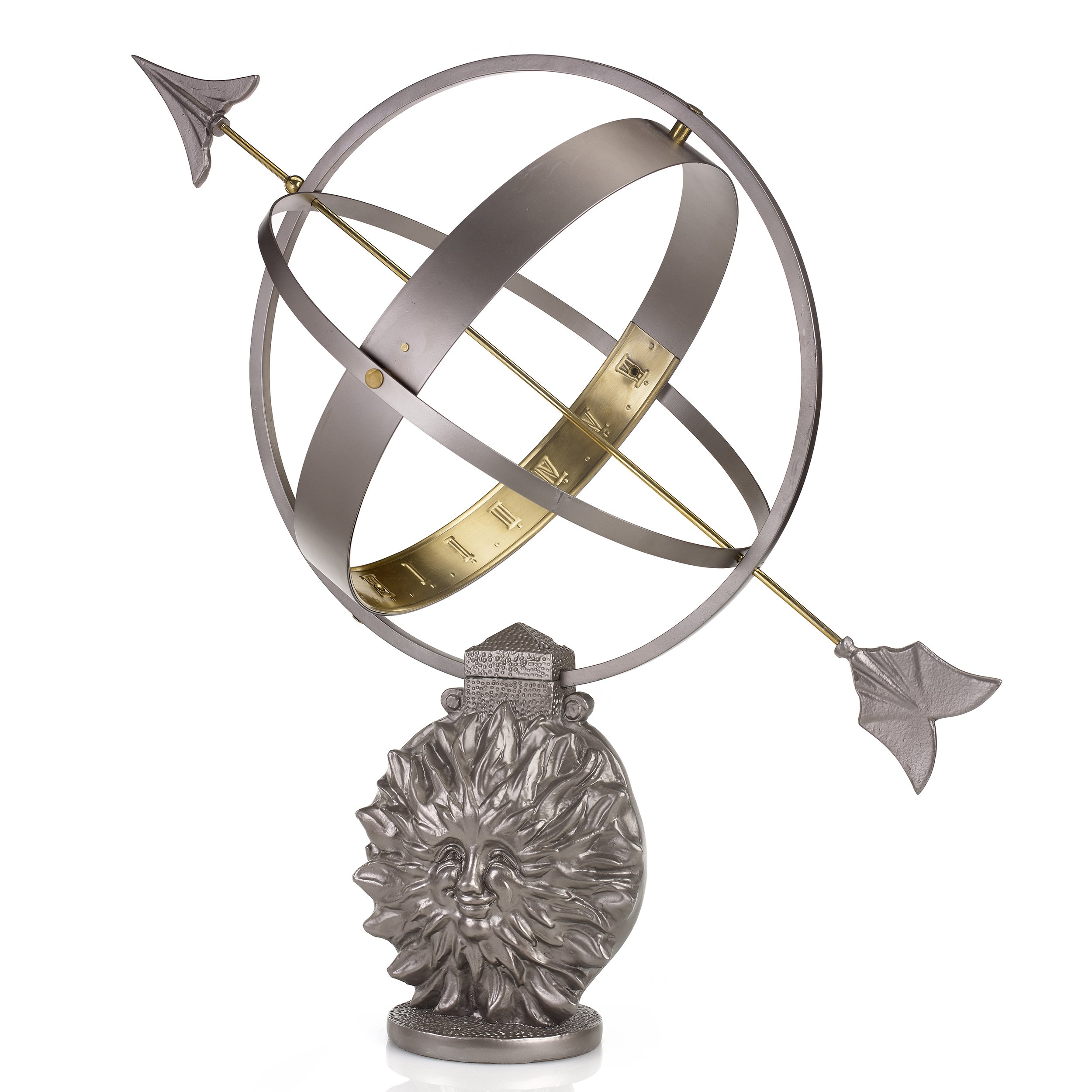 Good Directions Sun and Moon Armillary Sundial by Good Directions