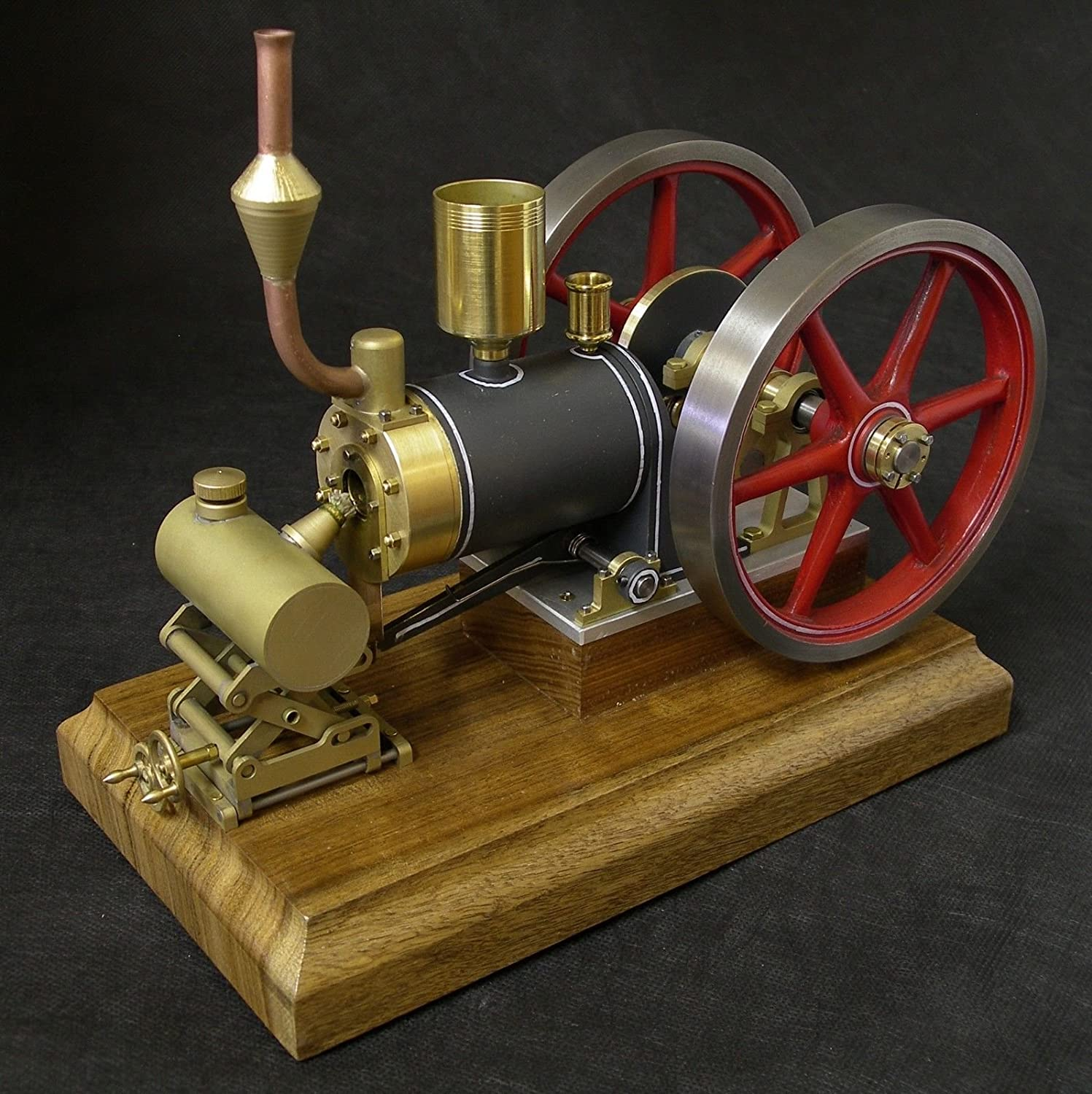 Amazon Steam Engine Kit Flame Eater Engine the Big Nick Flame
