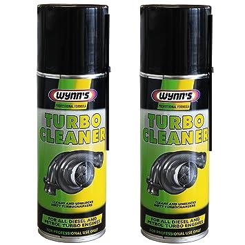 2 – Wynn de limpiador de turbo para Gasolina y Diesel turbochargers 200 ml aerosol Wynns