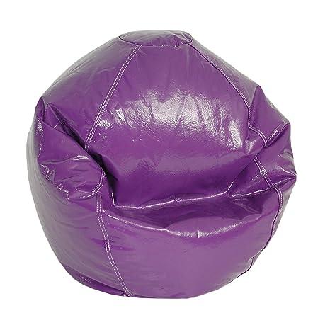 Fantastic American Furniture Alliance Wetlook Bean Bag Jr Child Grape Short Links Chair Design For Home Short Linksinfo