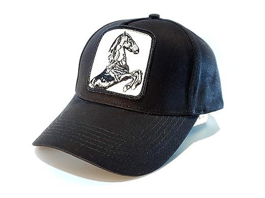 Gorra Animales béisbol Trucker Casual para Hombre y Mujer (Caballo)