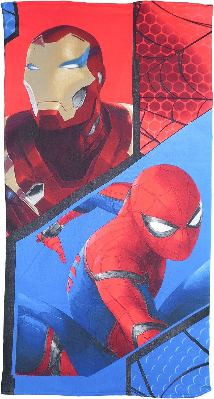 Marvel Spider-Man enfants Er4372/Beach Swim Serviette de bain 140/x 70/cm