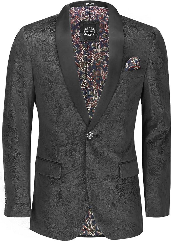 Business Blue Tweed Men/'s Blazer Peak Lapel Herringbone Party Dinner Tailored