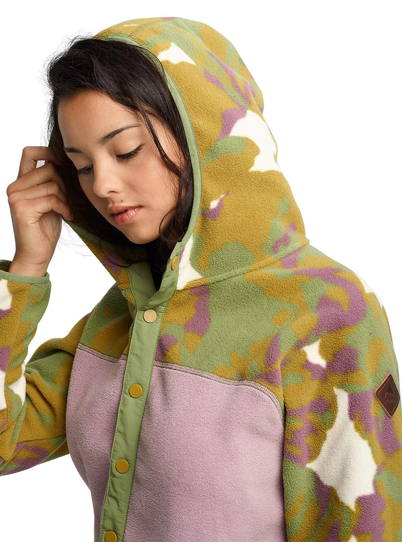 Burton Womens Hearth Snap-Up Fleece