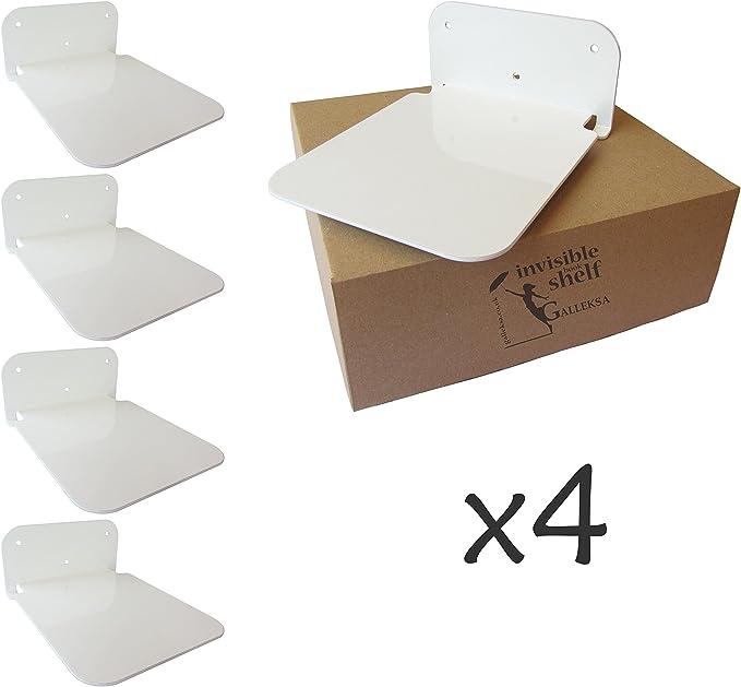 11344-00011 blanco 530 x 150 x 180 mm Element System Estanter/ía met/álica de pared//Estanter/ía de libros y estanter/ía decorativa Julien Double