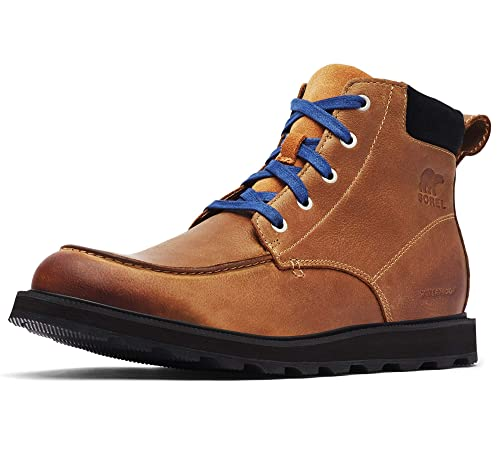 0e614d27812 Sorel - Men's Madson Moc Toe Waterproof Boot, All-Weather Footwear for  Everyday Wear