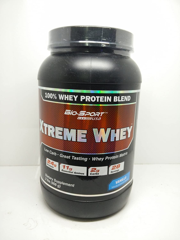 Xtreme Whey (2 Lb.) (908 Grs) Vainilla BioSport USA: Amazon.es