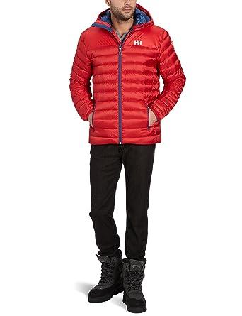 Helly Hansen Hooded Insulator - Plumífero con capucha para hombre rojo rojo Talla:extra-large: Amazon.es: Deportes y aire libre