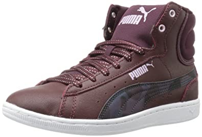 Puma Womens Vikky Mid Sfoam Scratch Fashion Sneaker
