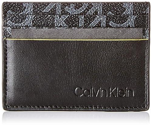 Calvin Klein - Ck Mono Cardholder, Tarjeteros Hombre, Negro ...