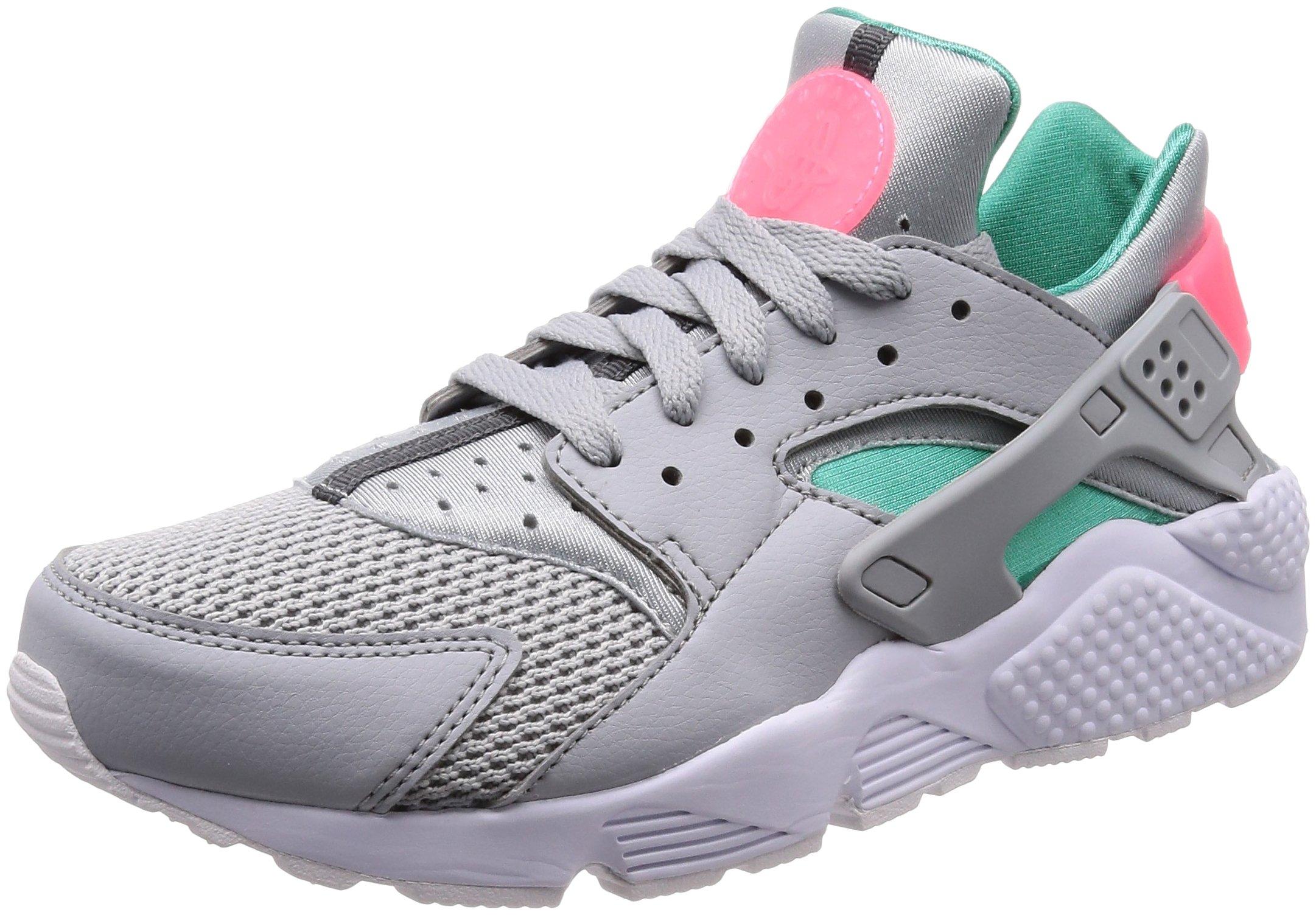wholesale dealer 9e6ba 25999 NIKE Air Huarache Men's Running Shoes Wolf Grey/Sunset Pulse 318429-053 12  M US