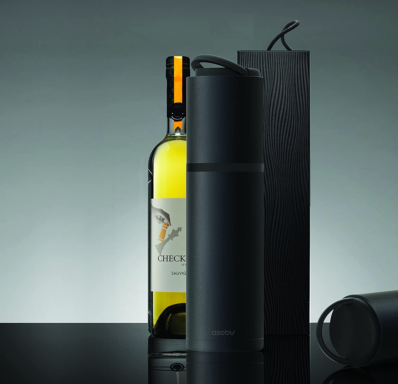 Amazon.com: Asobu Vin Blanc Portable Vacuum Insulated, Double Wall ...