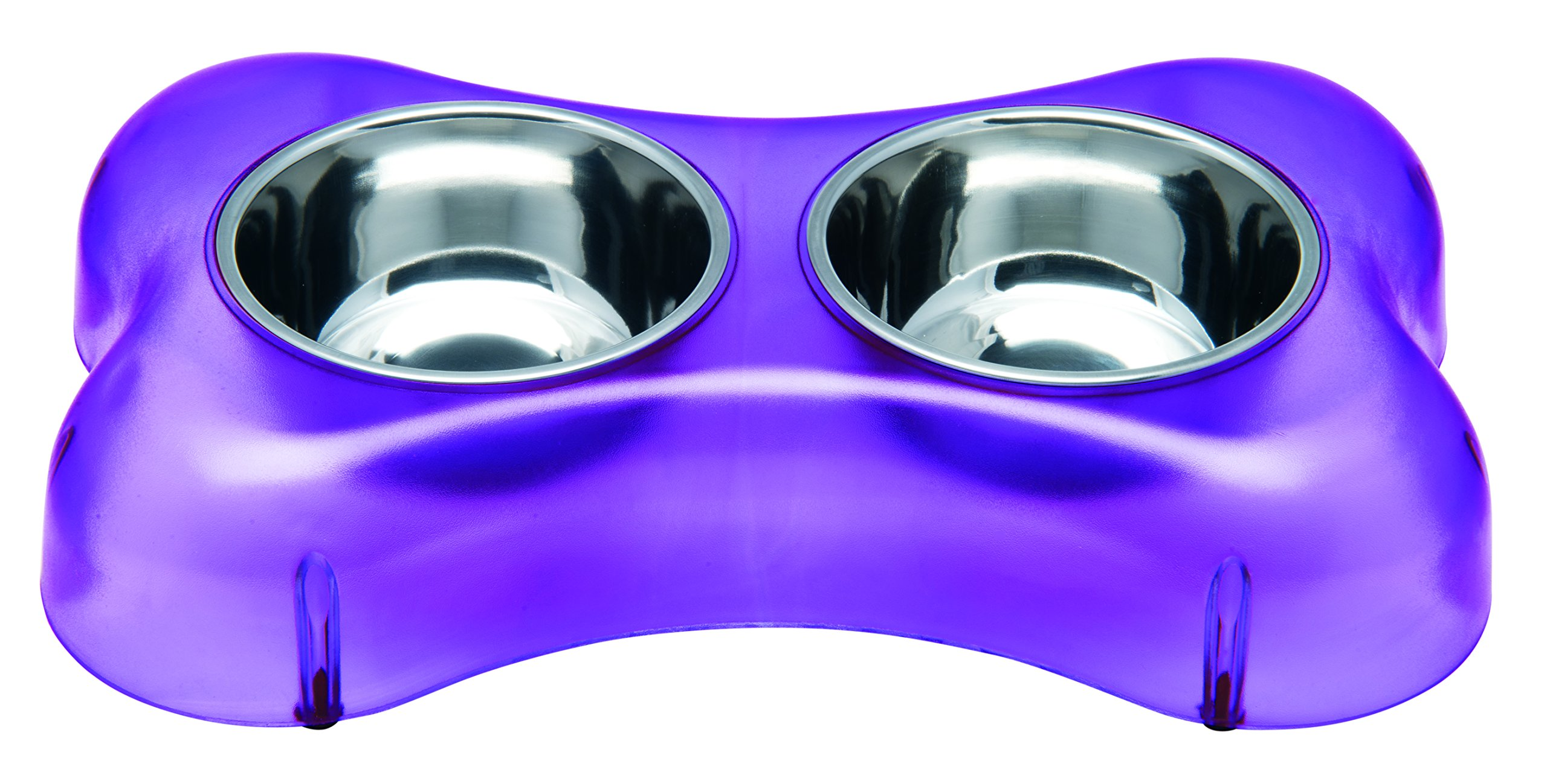 Loving Pets Osso Diner Bowl, Purple, Small