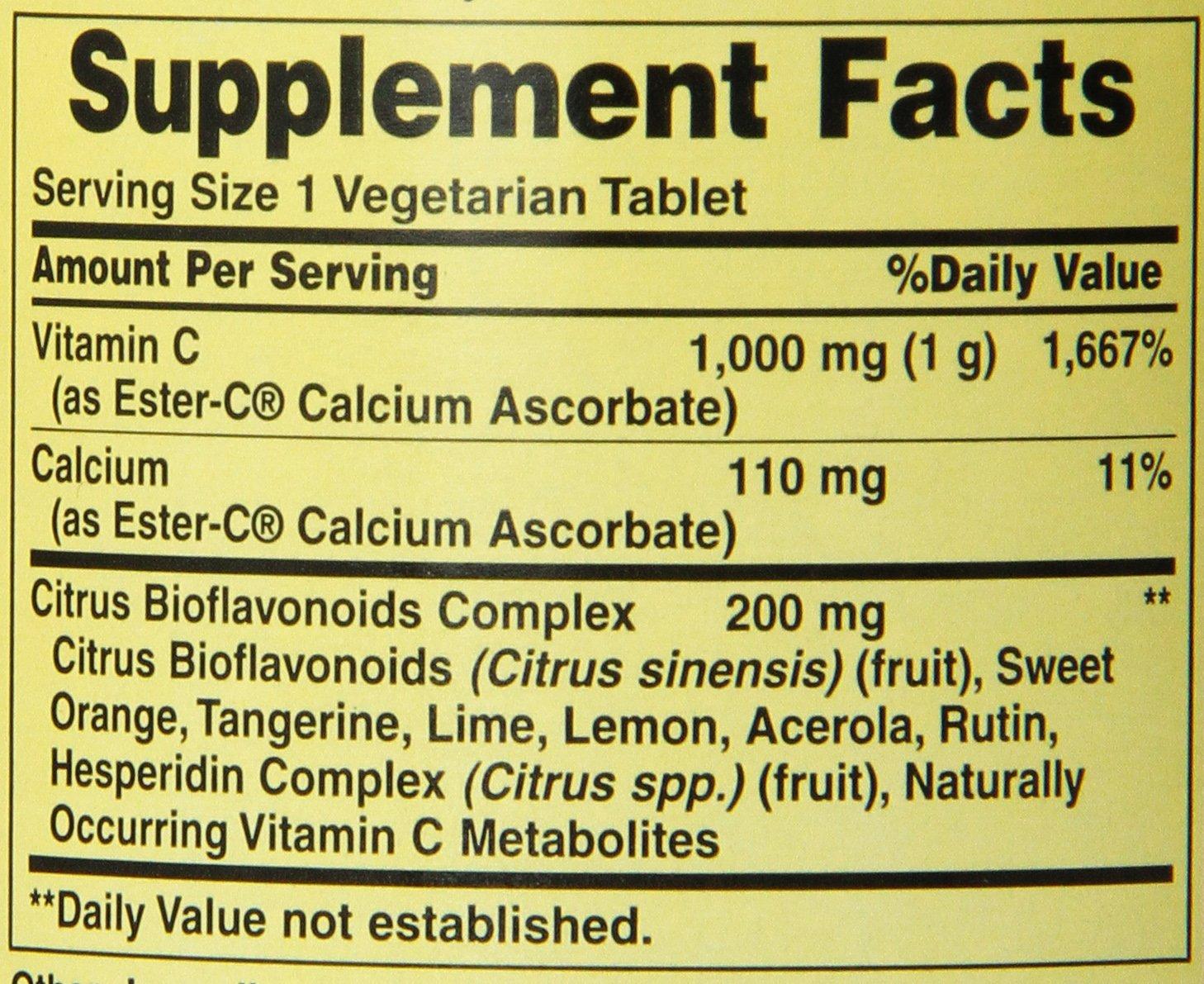 American salud Ester-C con cítricos bioflavonoids: Amazon.es: Salud y cuidado personal