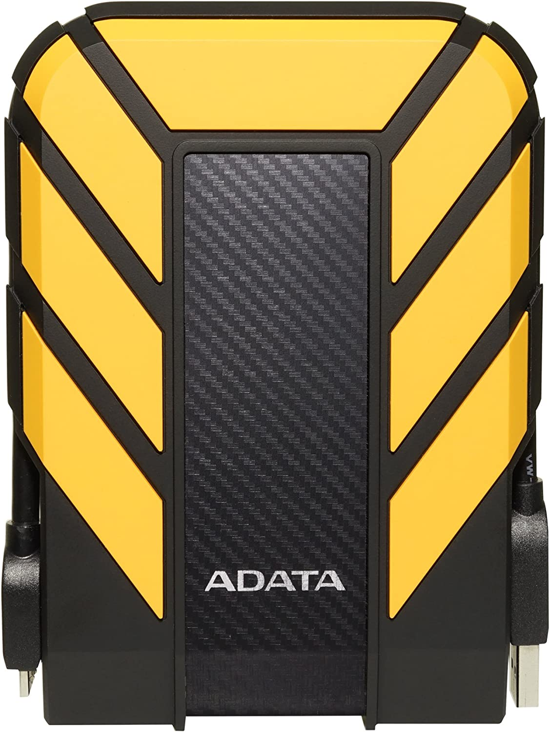 ADATA HD710 Pro 2TB USB 3.1 IP68 Waterproof/Shockproof/Dustproof Ruggedized External Hard Drive, Yellow (AHD710P-2TU31-CYL)